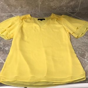 Yellow Banana Republic Blouse XS